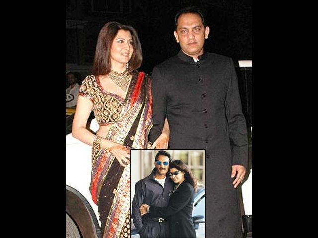 <p><strong>Sangeeta Bijlani-Azharuddin</strong><br /><br />Sangeeta, who was climbing the charts of Bollywood success slowly, met the soft-spoken and dashing Indian Captain, Mohammad Azharuddin, in 1996. They fell in love very soon and he divorced his wife to marry Sangeeta. She changed her name to Ayesha Azhar. However, their relationship also did not work out and after 14 years of togetherness the couple separated in 2010.</p>
