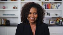 "<p>""They're hoping that you'll stay home so that they can make these important decisions for you.""- speaking with Shonda Rhimes in <em><a href=""https://www.harpersbazaar.com/culture/features/a32815163/michelle-obama-why-you-should-vote/"" rel=""nofollow noopener"" target=""_blank"" data-ylk=""slk:Harper's BAZAAR"" class=""link rapid-noclick-resp"">Harper's BAZAAR</a></em></p>"