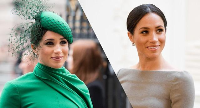 Meghan Markle-inspired earrings are available to buy from Etsy and cost under £50. (Getty Images)