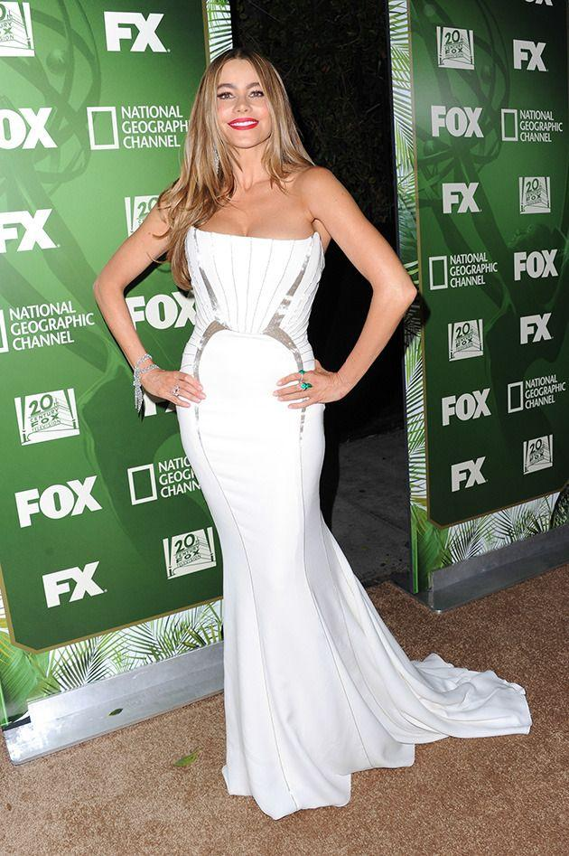 Sofia Vergara at the 2014 Emmys last month. Credit: Getty Images