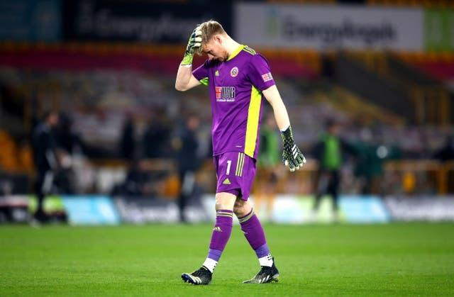 Aaron Ramsdale was unable to keep Sheffield United in the Premier League