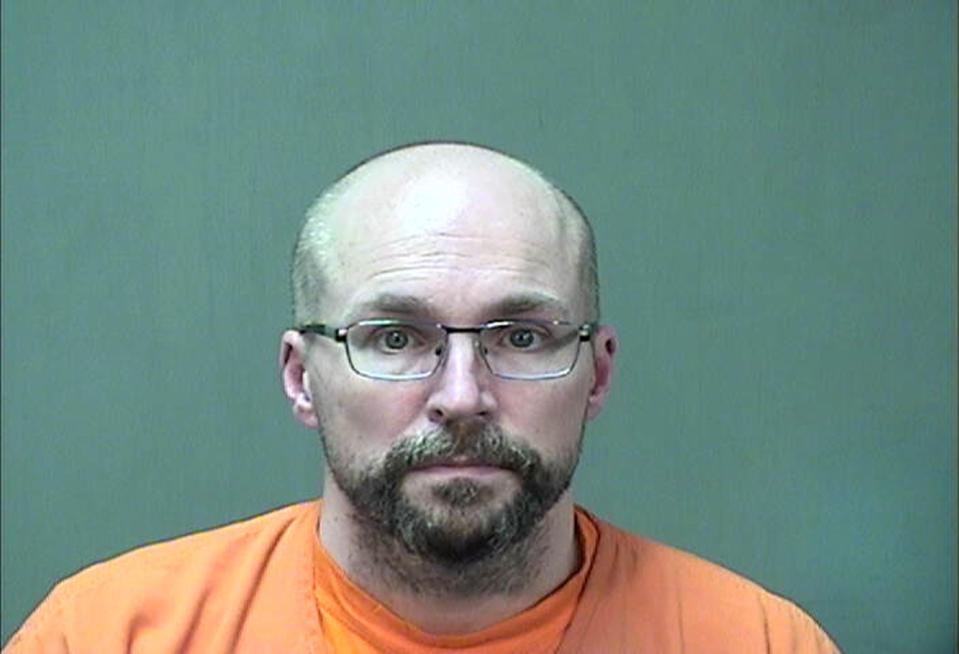 Steven Brandenburg, a Wisconsin pharmacist, is pictured in a police mug shot.