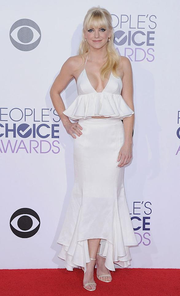 It's a Fashion Snow Day! The Best Alabaster Looks From the People's Choice Awards