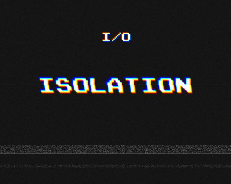 """This CD cover image released by I/O shows his self-released R&B album, """"Isolation."""" (AP Photo/I/O)"""