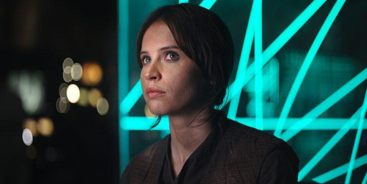 Felicity Jones in 'Rogue One: A Star Wars Story' (Photo: Film Frame ©Lucasfilm LFL)