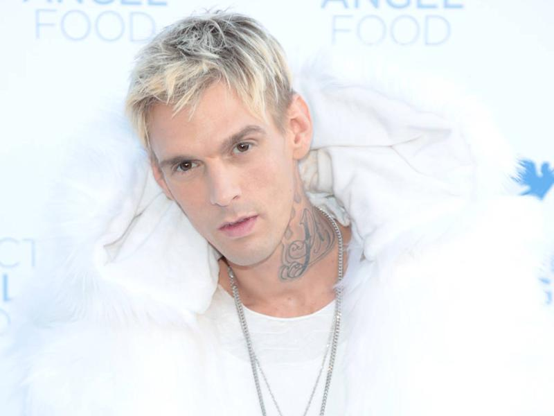 Aaron Carter hospitalised