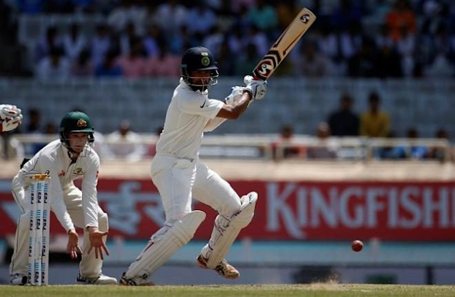 Cheteshwar Pujara, India, Australia, third Test, day three
