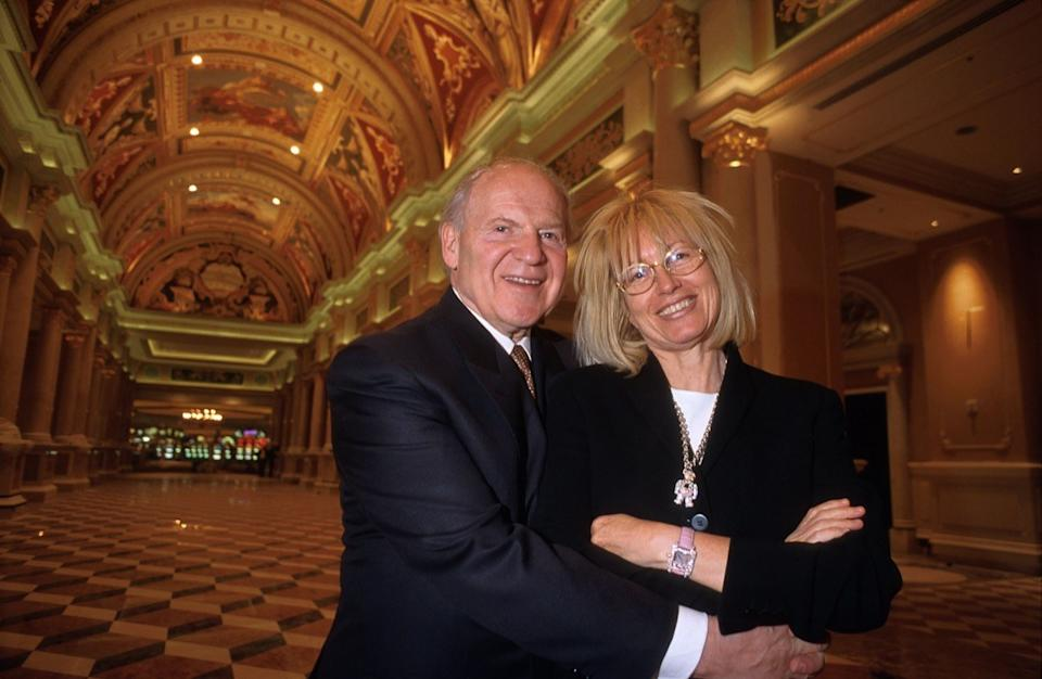 Sheldon and Myriam Adelson, owners of the Venetian Hotel