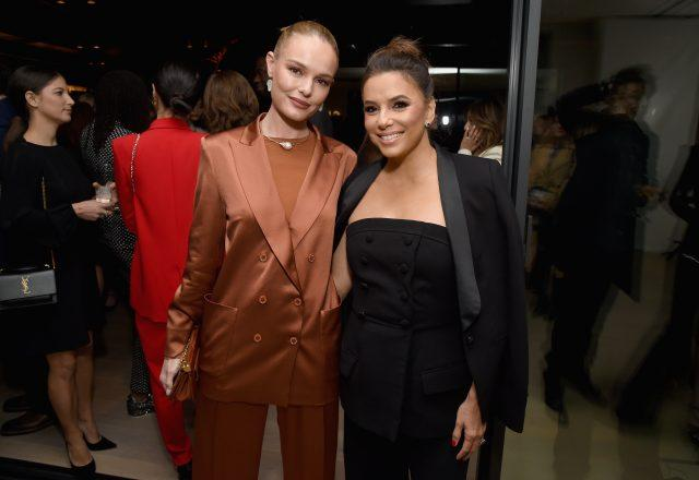 BEVERLY HILLS, CA - FEBRUARY 22: Kate Bosworth (L) and Eva Longoria attend Chloe Wine Collection Launches Its She Directed Campaign At The 12th Annual Women In Film Oscar Nominees Party at Spring Place on February 22, 2019 in Beverly Hills, California.BEVERLY HILLS, CA - FEBRUARY 22: Kate Bosworth (L) and Eva Longoria attend Chloe Wine Collection Launches Its She Directed Campaign At The 12th Annual Women In Film Oscar Nominees Party at Spring Place on February 22, 2019 in Beverly Hills, California.