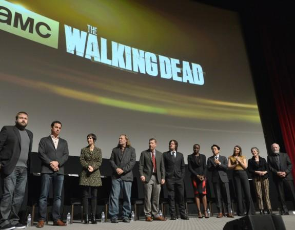 "'Walking Dead' Panel At TV Academy Reveals No ""Protection"" In Season 4 Return; Star Andrew Lincoln Too Sick To Attend"
