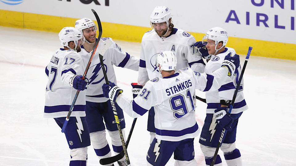 Will anyone be able to stop Victor Hedman and the Tampa Bay Lightning from repeating as Stanley Cup champions? (Jonathan Daniel/Getty Images)