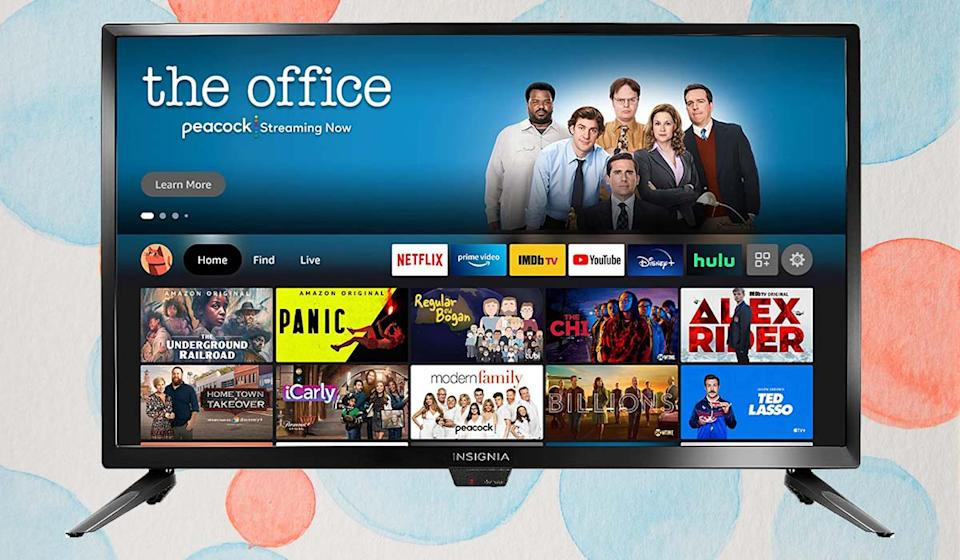 Only $140 for a Fire TV Edition! Finding something good to watch just got easier — and cheaper. (Photo: Amazon)
