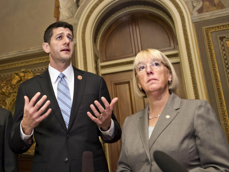 Ryan strikes collaborative tone in opening talks