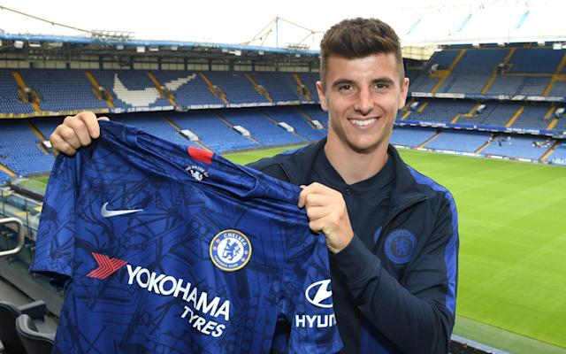 Mason Mount was excellent for Derby last season and could be given a chance to shine under Frank Lampard - Chelsea FC