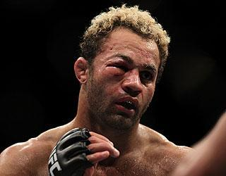 Josh Koscheck took a beating in his championship fight vs. GSP