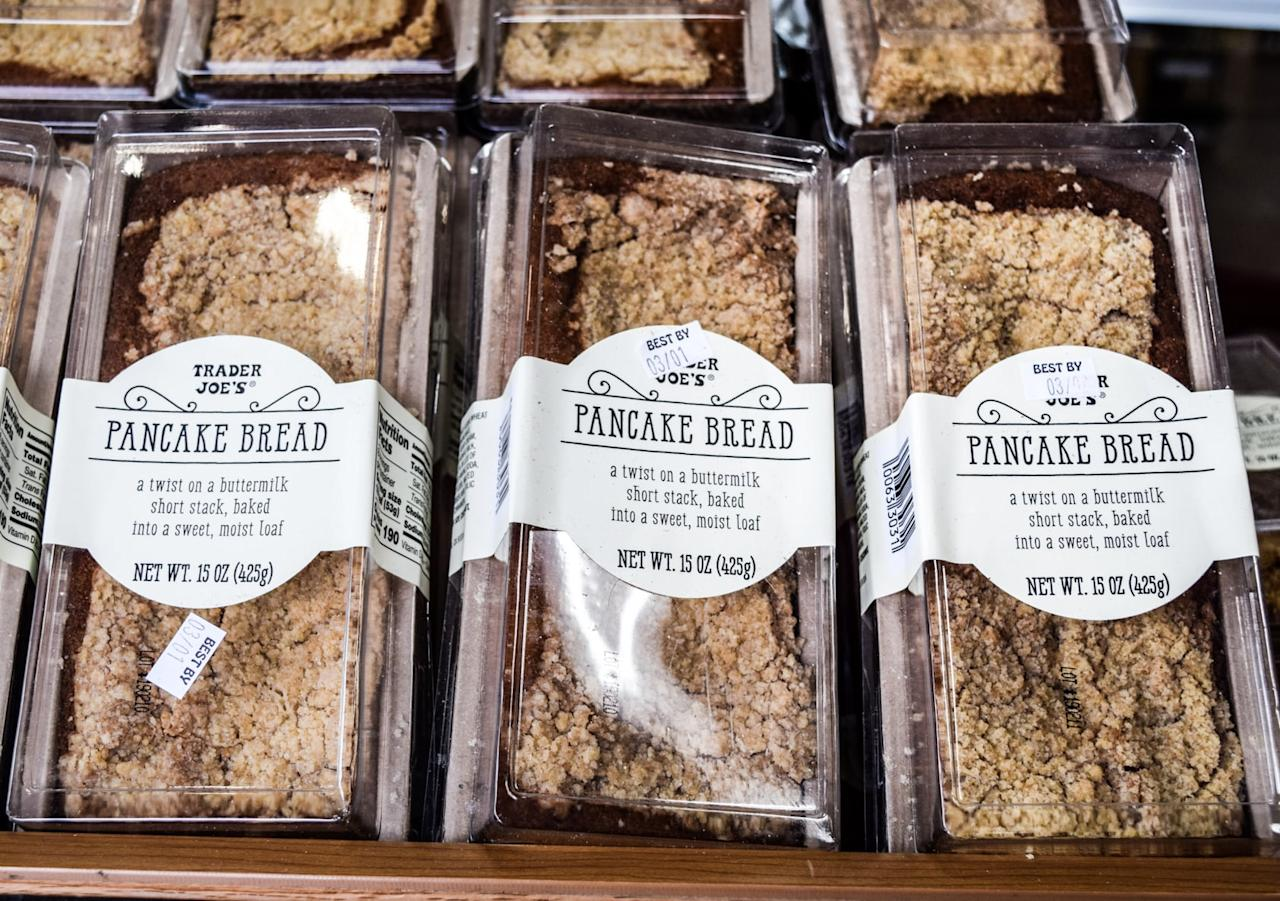 <p>Proof that you can turn almost any breakfast food into a loaf for the win, these are totable to bring for any potluck brunch; you'll definitely be invited back.</p>