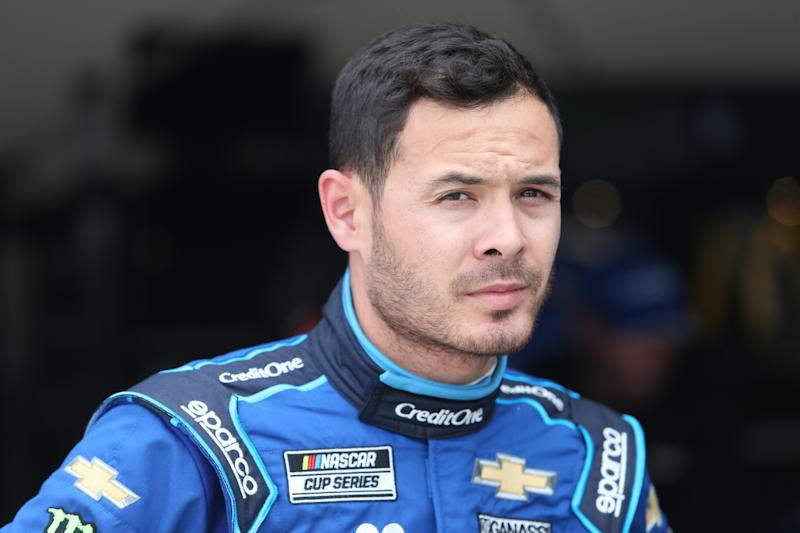 DAYTONA, FL - FEBRUARY 15: Kyle Larson, driver of the #42 Chip Ganassi Racing Credit One Bank Chevrolet Camaro, during final practice for the Daytona 500 on February 15, 2020 at Daytona International Speedway in Daytona Beach, Fl. (Photo by David Rosenblum/Icon Sportswire via Getty Images)