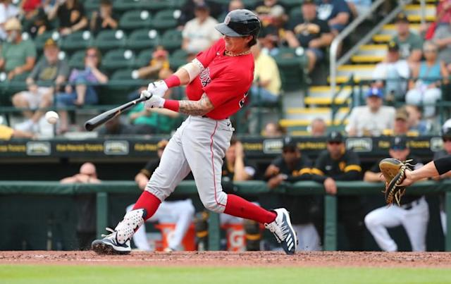 MLB: Spring Training-Boston Red Sox at Pittsburgh Pirates