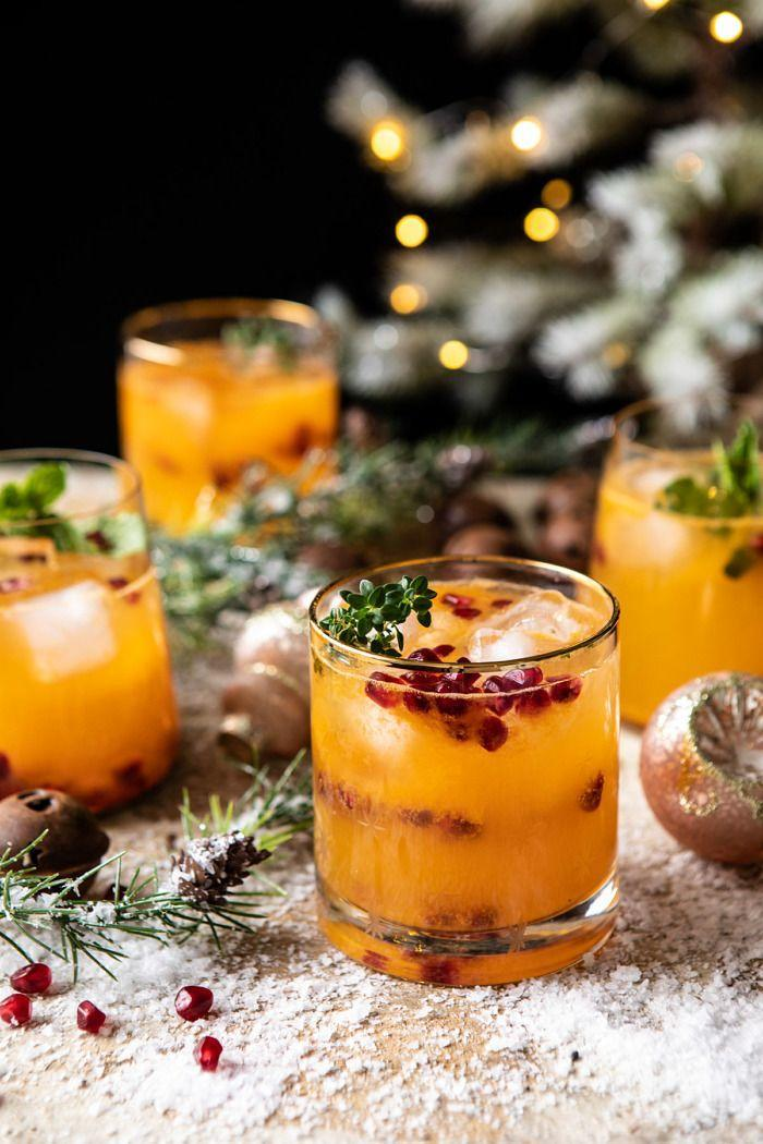 """<p>Not all Christmas cocktails have to be creamy, and this light, refreshing citrus drink proves it!</p><p><strong>Get the recipe at <a href=""""https://www.halfbakedharvest.com/holly-jolly-christmas-citrus-cocktail/"""" rel=""""nofollow noopener"""" target=""""_blank"""" data-ylk=""""slk:Half Baked Harvest"""" class=""""link rapid-noclick-resp"""">Half Baked Harvest</a>.</strong> </p>"""