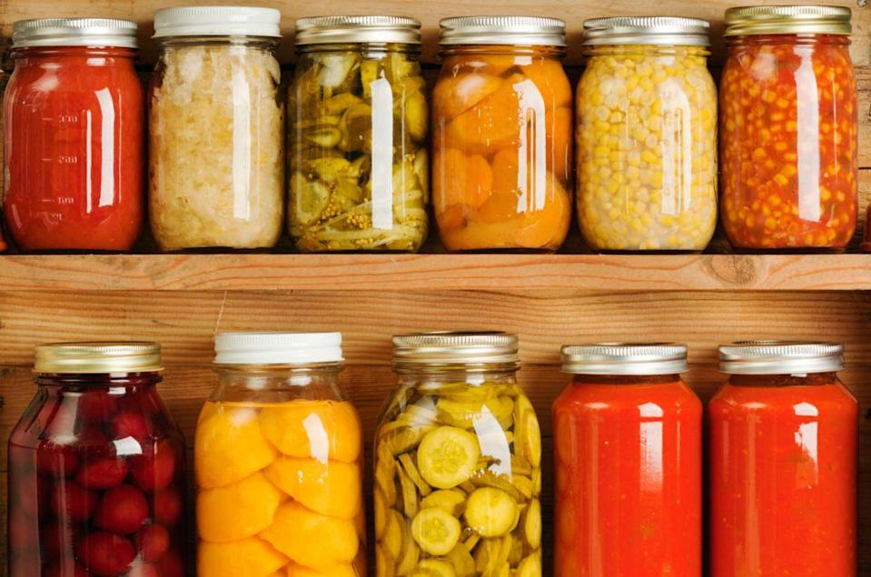 <p>If you spent summer canning fresh ingredients to save for later, make trades with your friends and neighbors. </p>