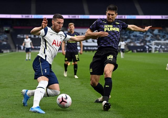 Matt Doherty joined Spurs from Wolves in the summer