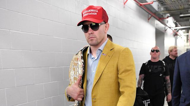 Former interim welterweight champion Colby Covington. (Getty Images)
