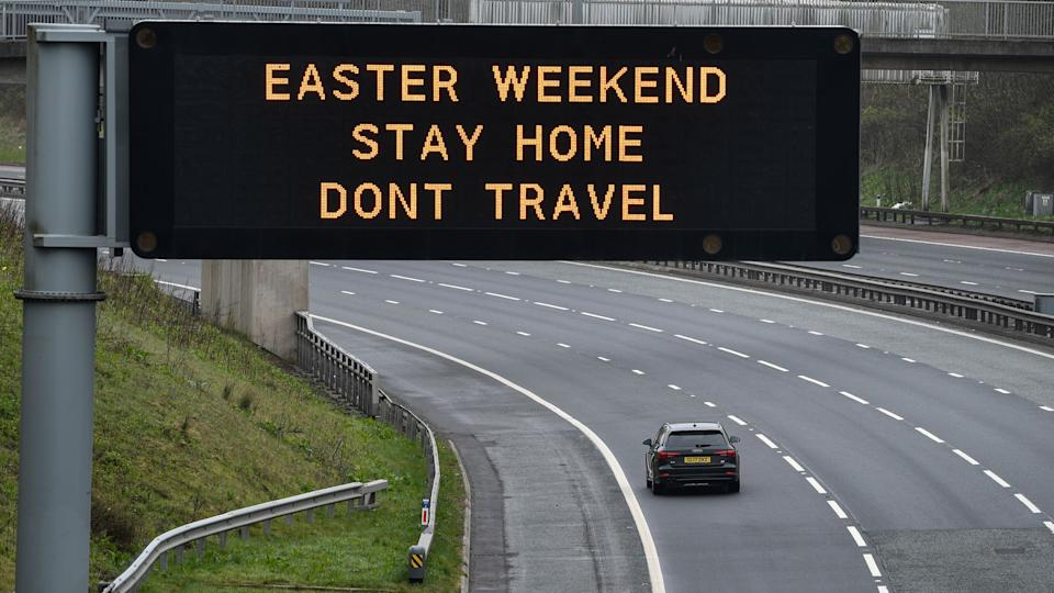 Britons are being warned the Easter weekend will be crucial in the fight against the coronavirus