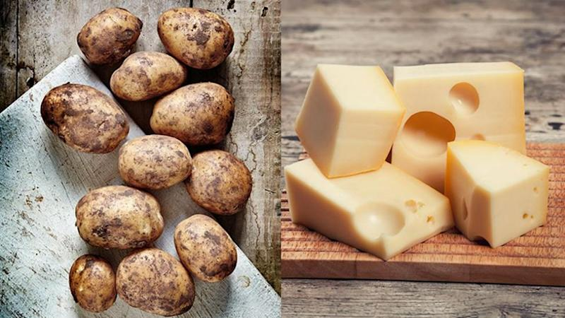 Aussie scientist claims he can convert potatoes into cheese. Source: Getty