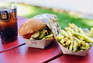 <p>Founded in 1999 by a pair of brothers, Gott's Roadside sells California-inspired dishes cooked using locally sourced ingredients. The famed cheeseburger is made with Niman Ranch beef patties cooked medium-well, American cheese, lettuce, tomatoes, pickles and secret sauce on a toasted egg bun.</p>