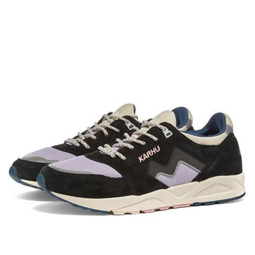 "<p><a class=""link rapid-noclick-resp"" href=""https://www.endclothing.com/gb/karhu-aria-f803069.html"" rel=""nofollow noopener"" target=""_blank"" data-ylk=""slk:SHOP"">SHOP</a></p><p>Another pair of chunky, mildly colourful Karhus; another reason to buy into this Finnish sleeper hit.<br></p><p>Aria Jet Trainers, £109, <a href=""https://www.endclothing.com/gb/karhu-aria-f803069.html"" rel=""nofollow noopener"" target=""_blank"" data-ylk=""slk:endclothing.com"" class=""link rapid-noclick-resp"">endclothing.com</a></p>"