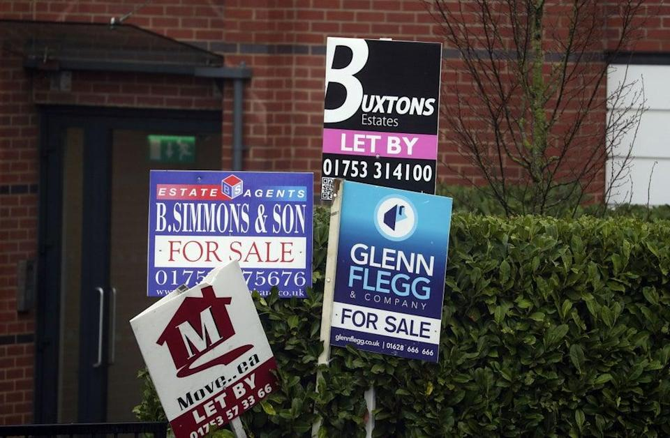 The total bill paid by millennials privately renting across Britain has shrunk by more than £9 billion in the past four years, according to Hamptons (Steve Parsons/PA) (PA Archive)