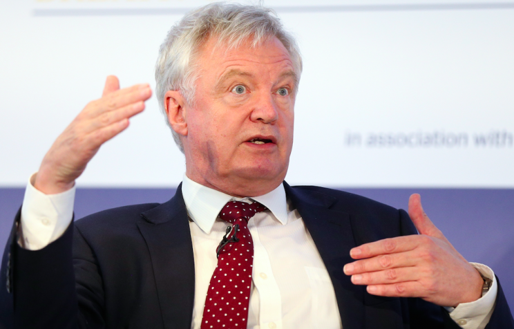 David Davis made his comments at The Times CEO Summit on Tuesday (Picture: PA)