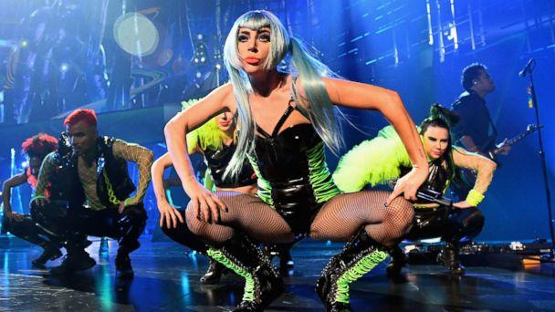 PHOTO: Lady Gaga performs during her 'ENIGMA' residency at Park Theater at Park MGM, Dec. 28, 2018 in Las Vegas. (Kevin Mazur/Getty Images)