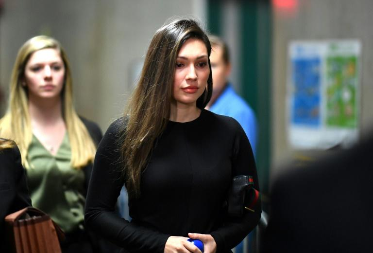 Former Actress Jessica Mann arrives for the trial of Harvey Weinstein at the Manhattan Criminal Court, on January 31, 2020