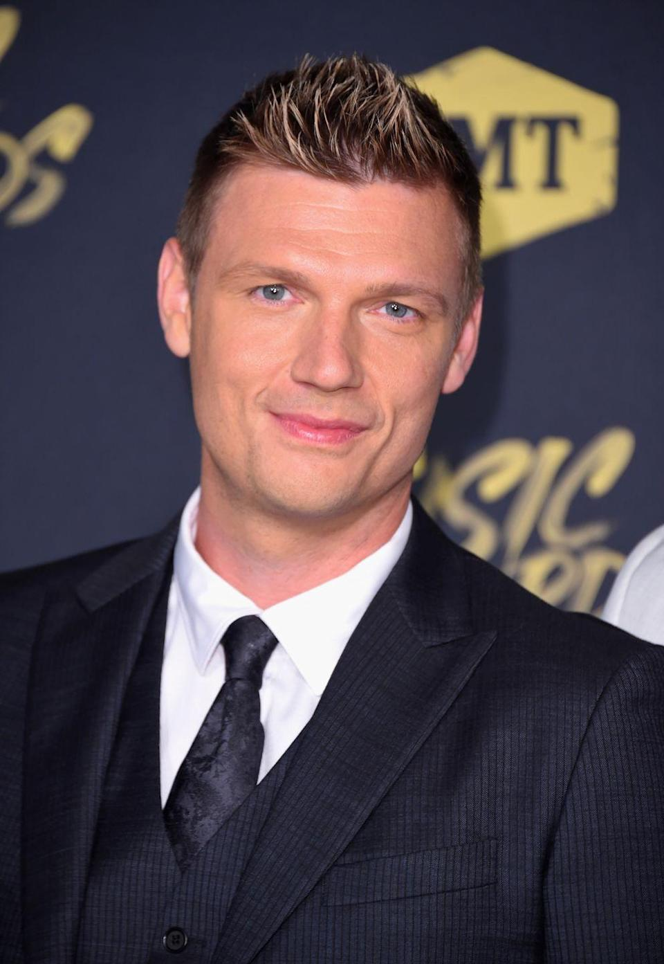 <p>Not only is Nick still rocking the '90s hair gel, but he's also still touring and releasing new(ish) music with the Backstreet Boys. Some! Things! Never! Change!</p>