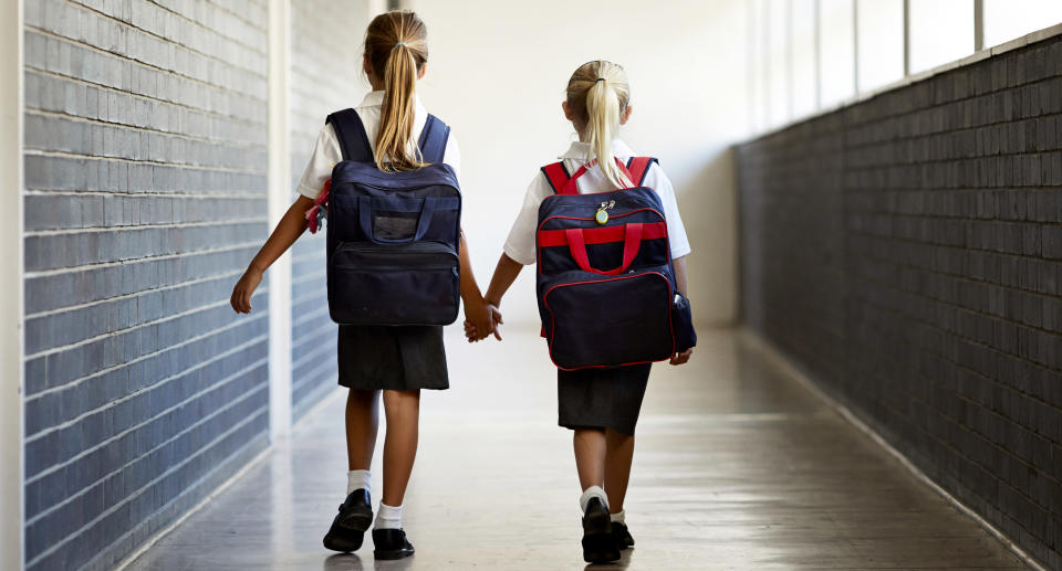 Taking the focus off being BFFs may encourage kids to be more inclusive. (Photo: Getty Images)