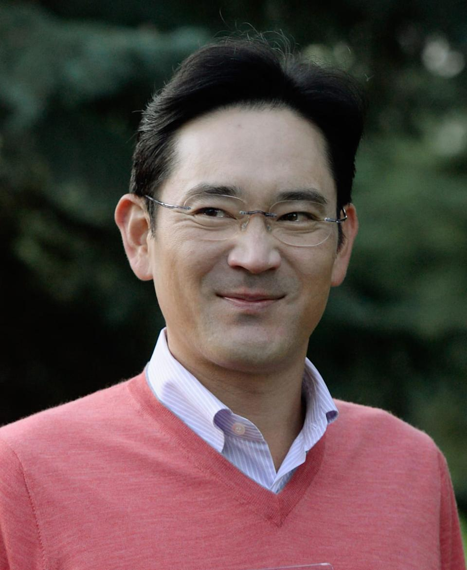 "<div class=""inline-image__caption""><p>Jay Lee, the only son of the late Samsung Chairman Lee Kun-Hee</p></div> <div class=""inline-image__credit"">Kevork Djansezian/Getty</div>"