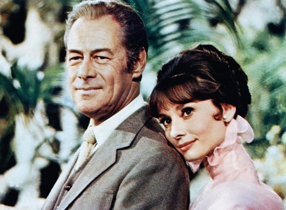"""<p>This 1964 musical classic features Audrey Hepburn as a flower seller named Eliza and Rex Harrison as a phonetics professor, who introduces her to high society while the two unexpectedly develop a bond. </p> <p><a href=""""https://www.netflix.com/title/60034064"""" class=""""link rapid-noclick-resp"""" rel=""""nofollow noopener"""" target=""""_blank"""" data-ylk=""""slk:Watch My Fair Lady on Netflix"""">Watch <strong>My Fair Lady</strong> on Netflix</a>.</p>"""