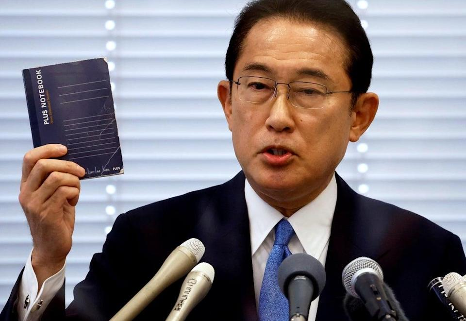 Former foreign minister Fumio Kishida is poised to become the country's next prime minister (REUTERS)