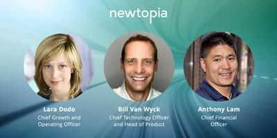 Newtopia leadership team announcement November 2020 (CNW Group/Newtopia Inc.)
