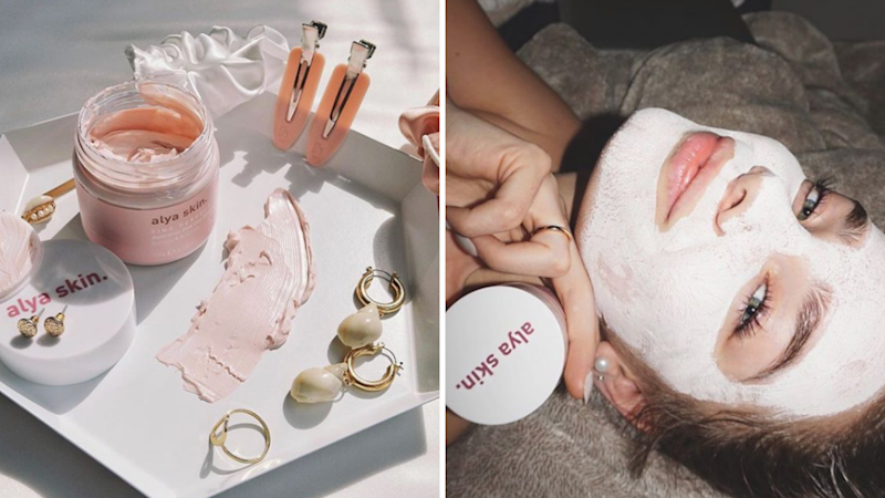 How to mates made millions selling women's skincare. Source: Alya Skin Instagram