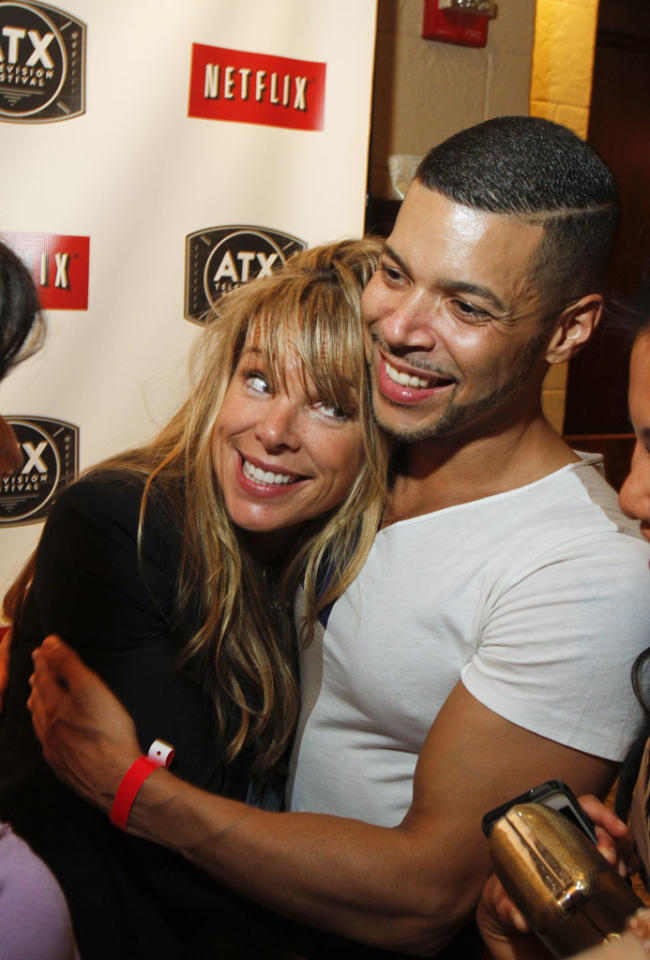 Devon Odessa and Wilson Cruz and  attend the Opening Night Party at ATX Television Festival on Thursday, June 6, 2013 in Austin, Texas.