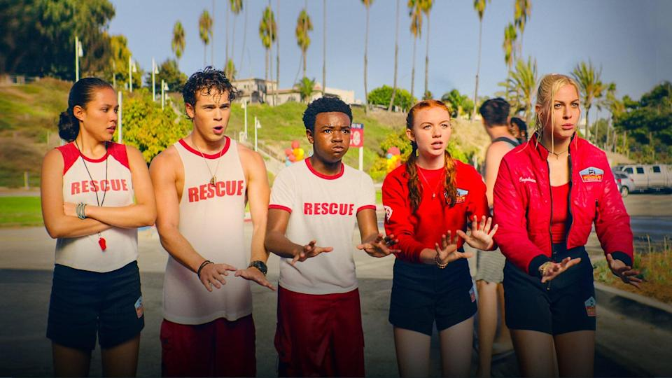 """<p><strong>Netflix's Description:</strong> """"As summer returns to Malibu, Team Flounder takes to the beach to host - and unexpectedly compete in - the International Beachmaster Competition.""""</p> <p><a href=""""https://www.netflix.com/title/81174879"""" class=""""link rapid-noclick-resp"""" rel=""""nofollow noopener"""" target=""""_blank"""" data-ylk=""""slk:Stream Malibu Rescue: The Next Wave on Netflix!"""">Stream <strong>Malibu Rescue: The Next Wave</strong> on Netflix!</a></p>"""