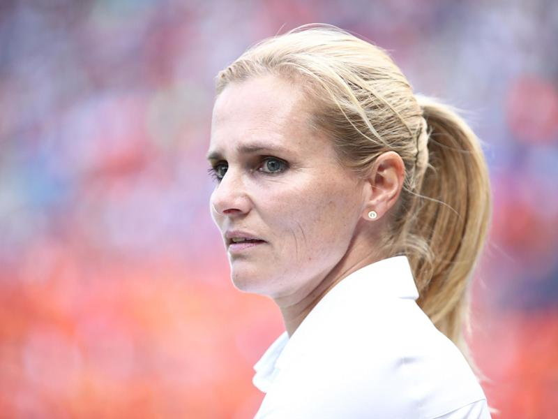 England have appointed Sarina Wiegman as their new head coach: Getty Images