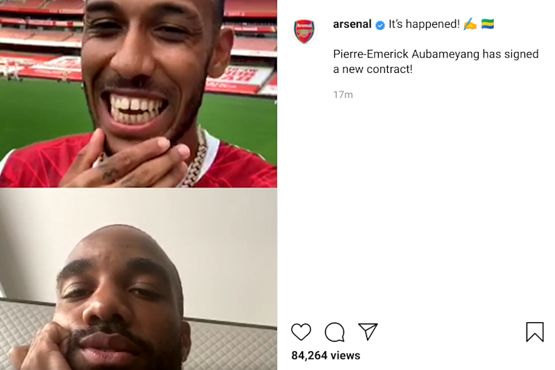 Instagram/Arsenal FC