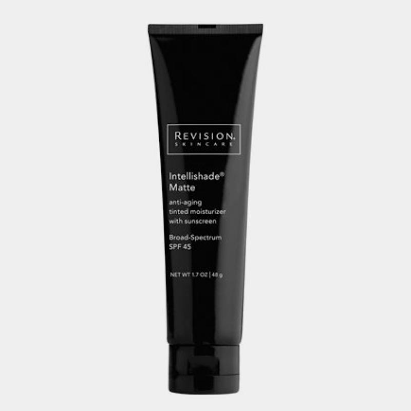 """Revision Skincare Intellishade Original SPF 45, $56, Buy it now """"I recommend this tinted sunscreen to my patients because it provides great protection and has antiaging ingredients—great for a hot summer day on the go."""" —Jennifer Levine, M.D."""