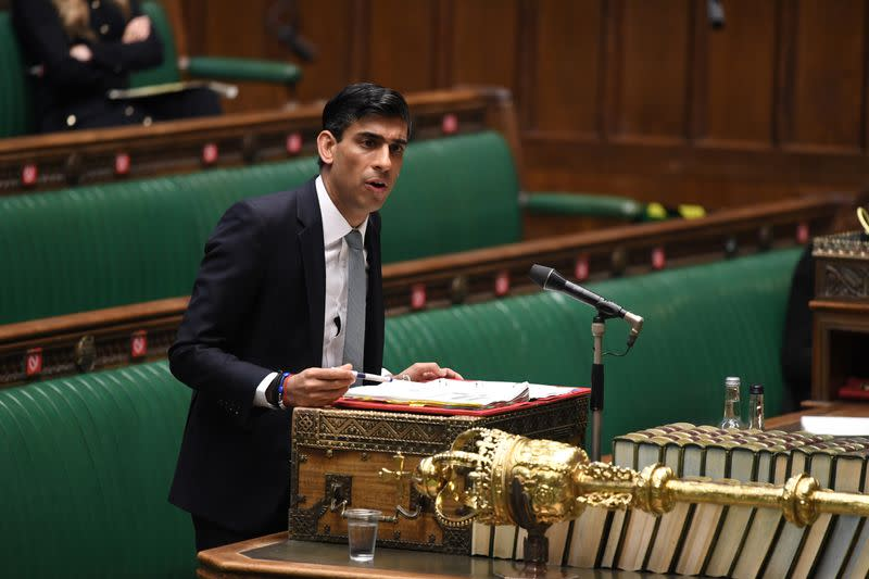 Frequent shocks may require tighter fiscal policy, Sunak says