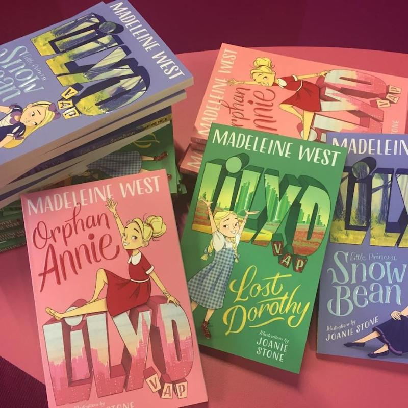 Madeleine's children's series tackles the big issues like bullying, death and illness. Aimed at five to eight-year-olds. it's about teaching kindness and respect for one another. Source: Instagram/Madeleine West