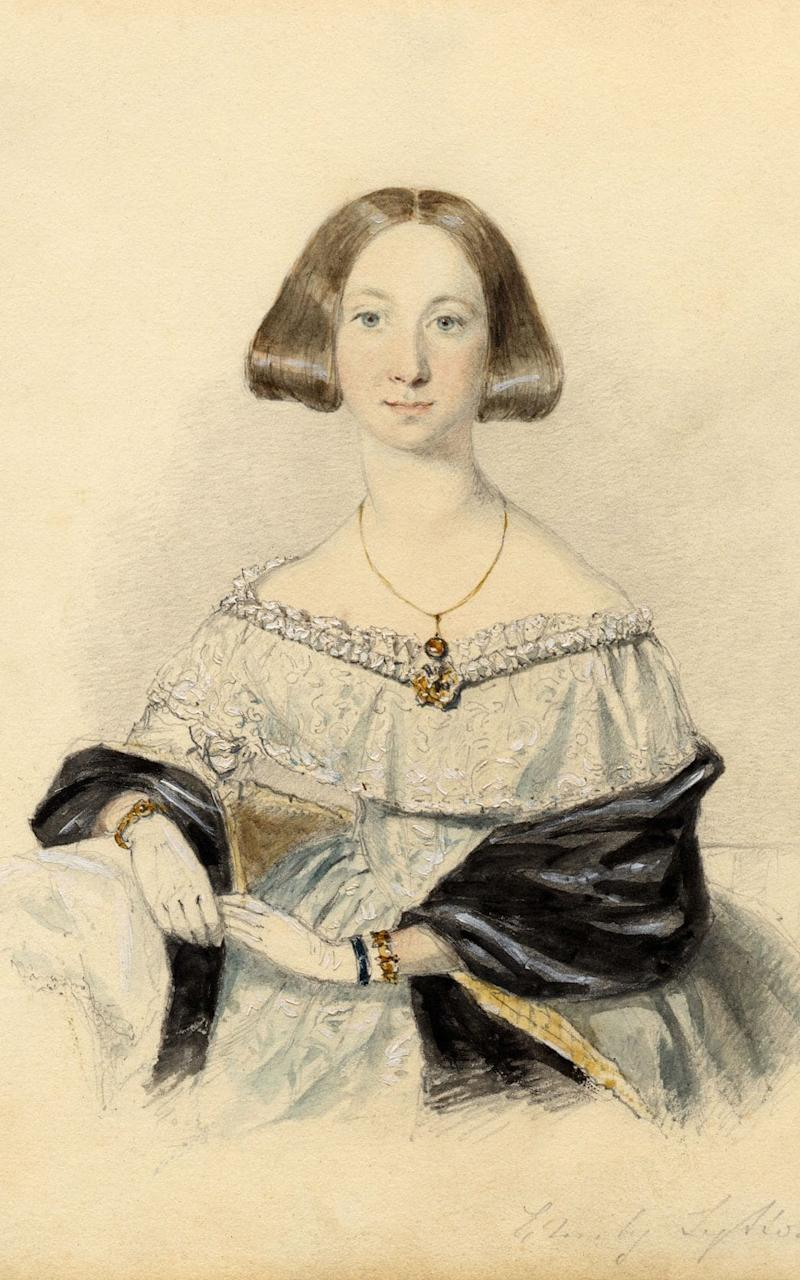 Edward Bulwer-Lytton's teenage daughter Emily - Henry Lytton Cobbold