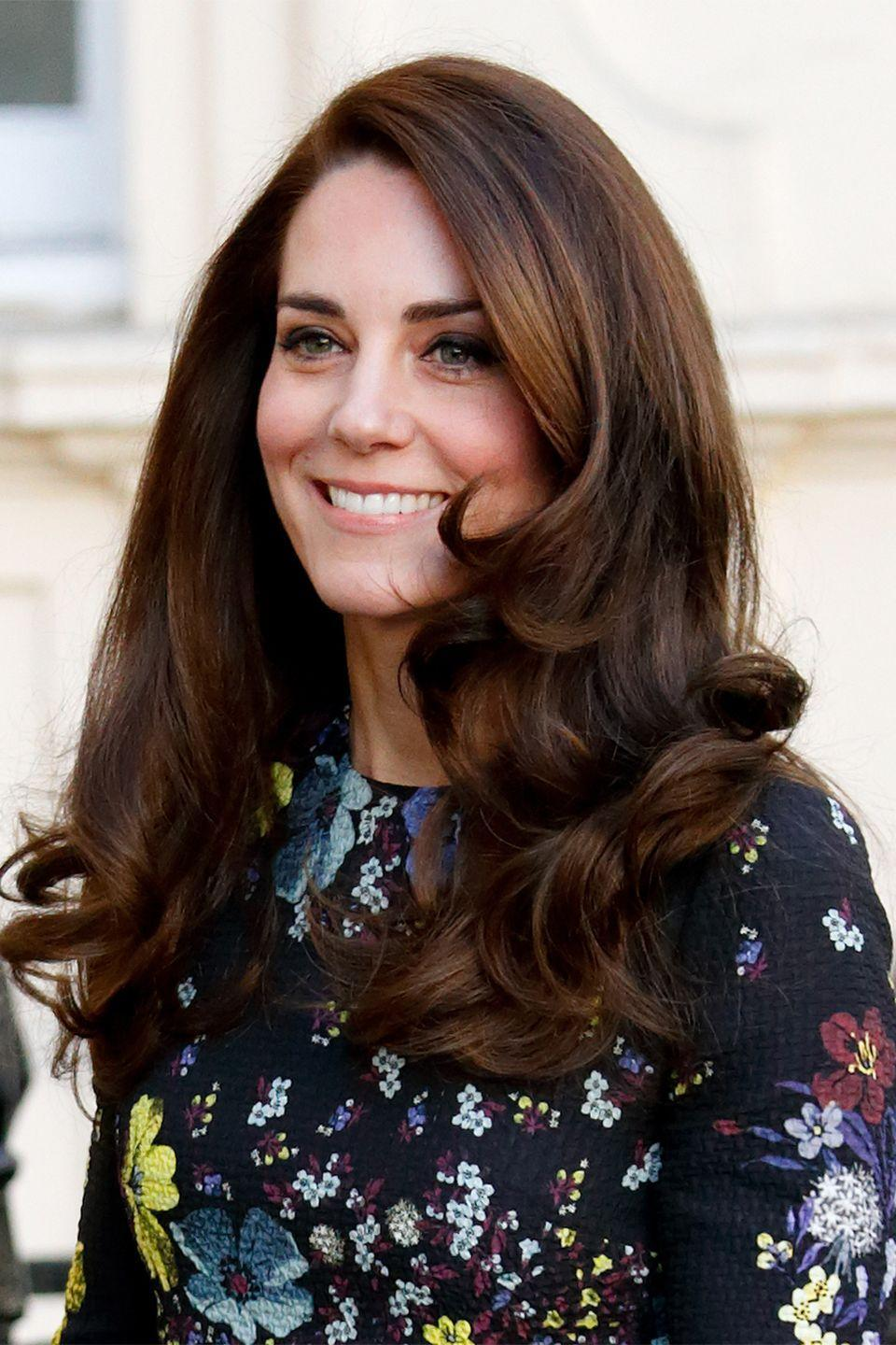 <p>The Duchess of Cambridge continues her reign as the queen of bouncy blowouts in 2017.</p>